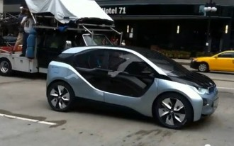 2014 BMW i3 Electric Car Spotted In Chicago