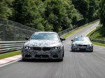 2014 BMW M3 and M4 at the Nürburgring