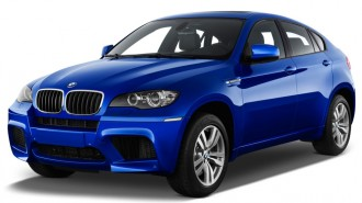 2014 BMW X6 M AWD 4-door Angular Front Exterior View
