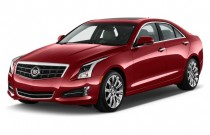 2014 Cadillac ATS 4-door Sedan 2.0L RWD Angular Front Exterior View