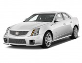 2014 Cadillac CTS-V 4-door Sedan Angular Front Exterior View