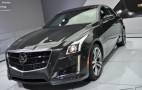 2014 Cadillac CTS: New York Auto Show Live Photos