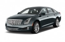 2014 Cadillac XTS 4-door Sedan Platinum FWD Angular Front Exterior View