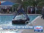 2014 Chevrolet Camaro ZL1 crashes into pool screencap.