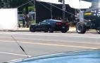2014 Chevy Corvette Stingray Spotted On Set Of New Captain America Movie: Video