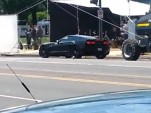 2014 Chevrolet Corvette Stingray on the set of 'Captain America: The Winter Soldier'