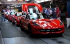 Watch Corvette Stingrays Roll Down The Production Line: Video