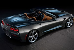 2014 Chevrolet Covette Stingray Convertible leaked images