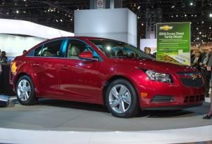 2014 Chevrolet Cruze Clean Turbo Diesel: Chicago Live Photos