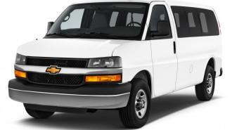 "2014 Chevrolet Express Passenger RWD 2500 135"" LS Angular Front Exterior View"