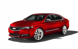 2014 Chevrolet Impala Earns Top Five-Star Safety Scores