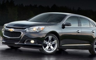 2014 Chevrolet Malibu Earns IIHS 'Top Safety Pick Plus' Distinction
