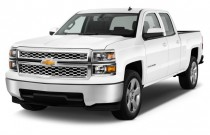 "2014 Chevrolet Silverado 1500 2WD Double Cab 143.5"" LT w/1LT Angular Front Exterior View"
