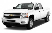 "2014 Chevrolet Silverado 2500HD 2WD Crew Cab 153.7"" Work Truck Angular Front Exterior View"