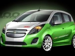 Hot-Rod Chevy Spark EV Unveiled For SEMA Performance Show