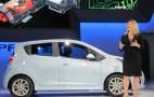2014 Chevrolet Spark EV: LA Auto Show Live Photos