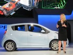 2014 Chevrolet Spark EV introduction, 2012 Los Angeles Auto Show