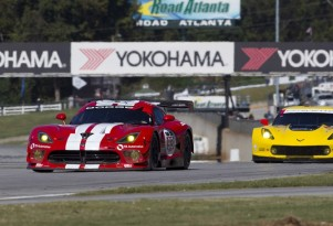 2014 Dodge Viper SRT GTS-R at the Petit Le Mans at Road Atlanta