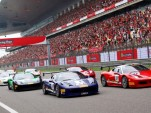 2014 Ferrari Challenge race in Shanghai, China