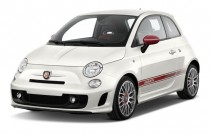 2014 FIAT 500 2-door HB Abarth Angular Front Exterior View