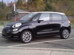 2014 Fiat 500L at twilight, upstate New York