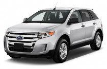 2014 Ford Edge 4-door SE FWD Angular Front Exterior View