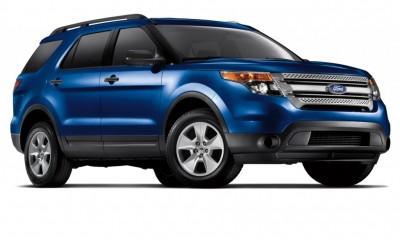 2014 Ford Explorer Colors