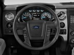 "2014 Ford F-150 2WD SuperCrew 145"" XLT Steering Wheel"