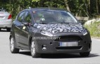 2014 Ford Fiesta Spy Shots