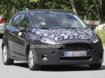 2014 Ford Fiesta facelift spy shots