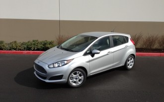 2014 Ford Fiesta SE: Driven