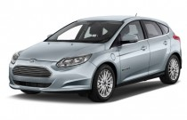 2014 Ford Focus Electric 5dr HB Angular Front Exterior View