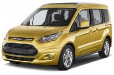 2014 Ford Transit Connect Wagon 4-door Wagon LWB Titanium w/Rear Liftgate Angular Front Exterior