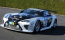 2014 Gazoo Racing Lexus LFA Code X race car