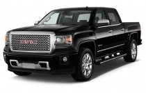 "2014 GMC Sierra 1500 2WD Crew Cab 143.5"" Denali Angular Front Exterior View"
