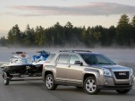 2014 GMC Terrain towing