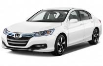 2014 Honda Accord Hybrid 4-door Sedan Angular Front Exterior View