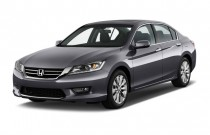 2014 Honda Accord Sedan 4-door V6 Auto EX-L Angular Front Exterior View