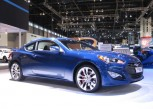 2014 Hyundai Genesis Coupe at 2014 Chicago Auto Show