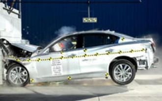 2014 Infiniti Q50 Earns Five-Star Crash Safety Rating