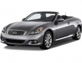 2014 Infiniti Q60 Convertible 2-door Angular Front Exterior View
