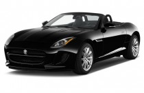 2014 Jaguar F-Type 2-door Convertible V6 Angular Front Exterior View