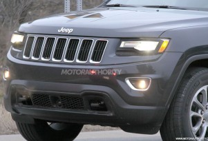 2014 Jeep Grand Cherokee facelift spy shots