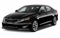 2014 Kia Optima 4-door Sedan SX Angular Front Exterior View