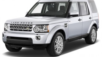 2014 Land Rover LR4 4WD 4-door Angular Rear Exterior View