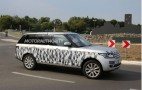 2014 Range Rover Long-Wheelbase Model Spy Shots