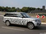 2014 Land Rover Range Rover long-wheelbase model spy shots