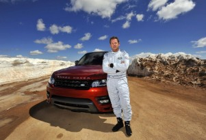 2014 Land Rover Range Rover Sport at Pikes Peak