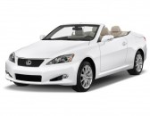 2014 Lexus IS 250C 2-door Convertible Angular Front Exterior View