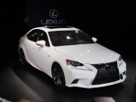 2014 Lexus IS 350 F Sport live photos, 2013 Detroit Auto Show